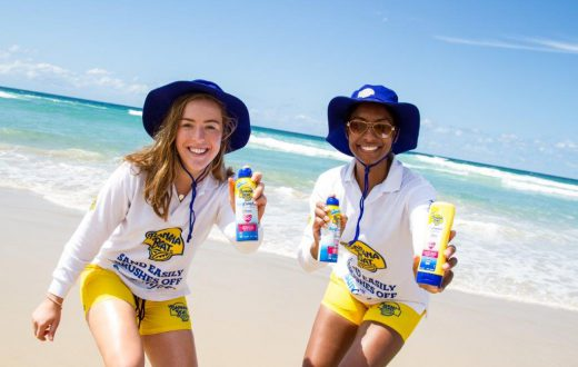 banana boat promotional staff