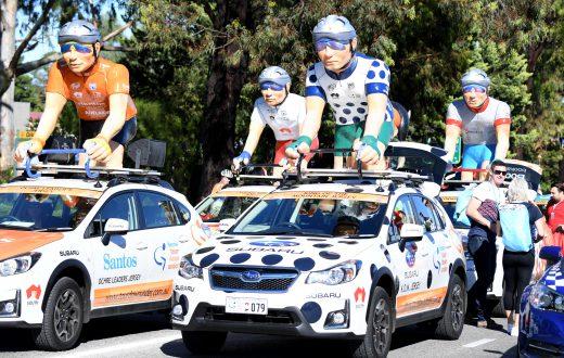 subaru king of the mountain parade tour down under