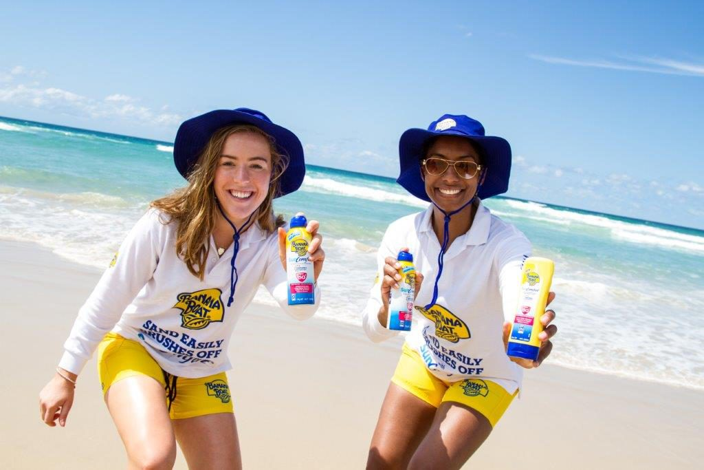 banana boat promotional staff