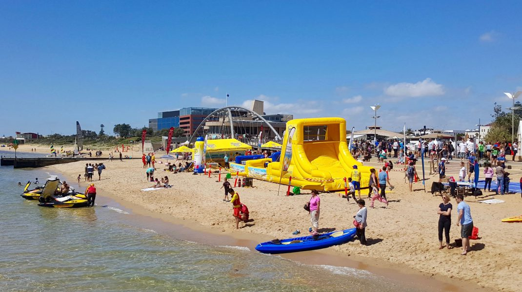 banana boat experiential brand activation